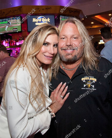 Vince Neil and guest