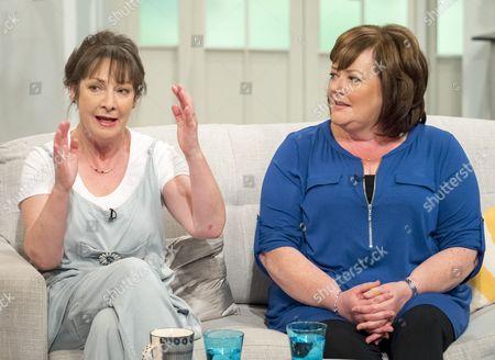 Pauline McLynn and Sally Bankes