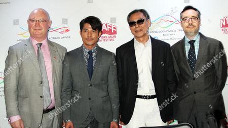 Stock Photo of Steve Barclay, Aaron Kwok, Ringo Lam, Goran Topalovic