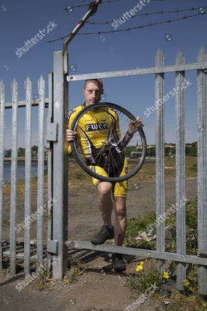 Editorial photo of Graeme Obree in Glasgow, Scotland, Britain - 11 Jun 2015