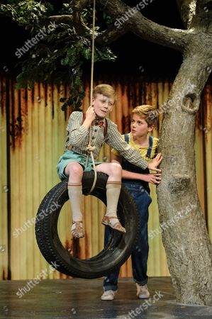 Connor Brundish (Dill), Tommy Rodger (Jem)