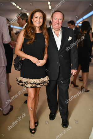Stock Image of Susan Nilsson and Andrew Neil