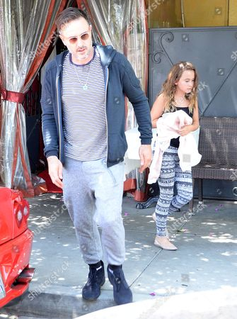 David Arquette and Coco Riley Arquette