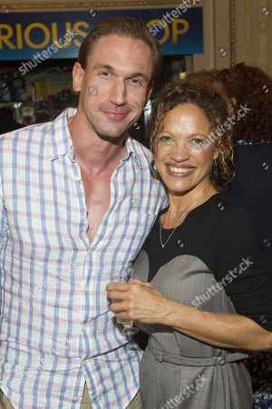 Dr Christian Jessen and Indra Ove (Mrs Shears) attend the after party
