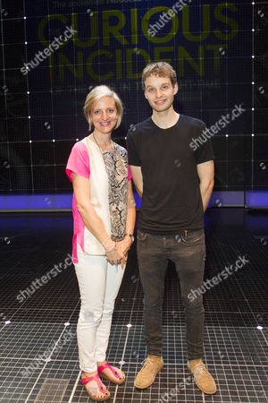 Editorial picture of 'The Curious Incident of the Dog in the Night-Time' play media night backstage, London, Britain - 30 Jun 2015