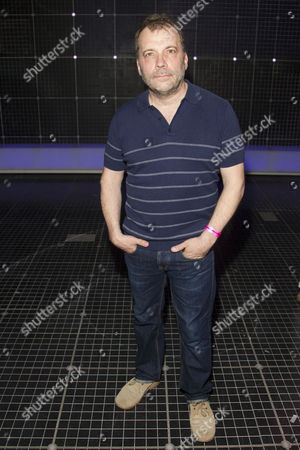 Stock Photo of Nicolas Tennant (Ed) backstage after the curtain call