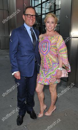 Richard Desmond and Joy Canfield