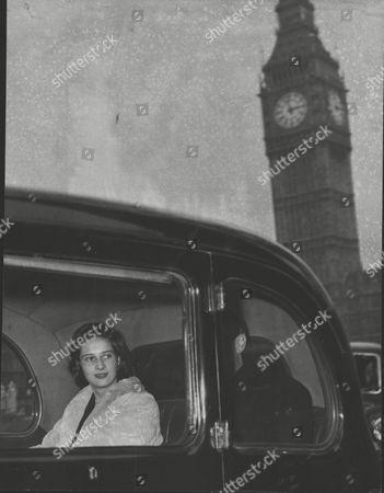 Christopher Loyd With Joanna Loyd (nee: Joanna Smith Bingham) Rehearsing For Their Wedding Their Wedding At St. Margarets Westminster. Box 0589 180615 00178a.jpg.