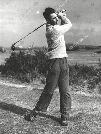 Harry Bennett Amateur Golfer. Finalist In Amateur Golf Championship At Lytham St. Annes. Box 0590 190615 00071a.jpg.