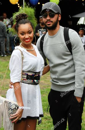 Leigh-Anne Pinnock and Jordan Kiffin