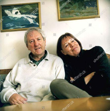 Tomas Transtromer and wife Monika