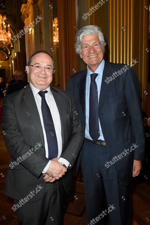 Ariel Goldmann and Maurice Levy