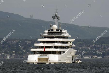 Roman Abramovichs Super Yacht Eclipse Editorial Stock Photo Stock