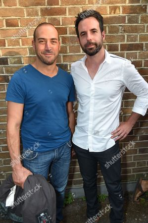 Stock Picture of Antony Micallef with guest