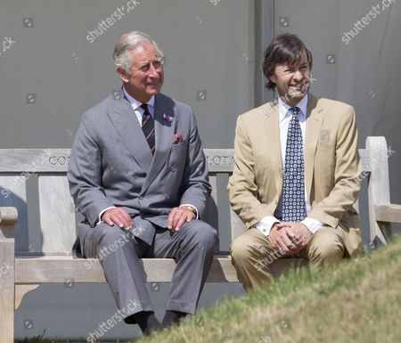 Prince Charles with Timothy Knatchbull at the ceremony.