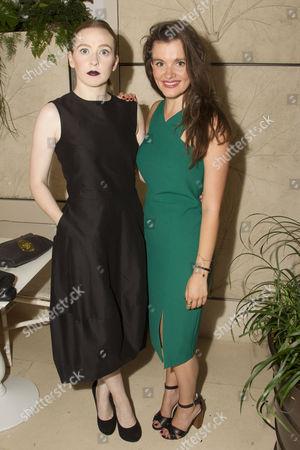 Imogen Doel (Cecily Cardew) and Emily Barber (Gwendolen Fairfax)