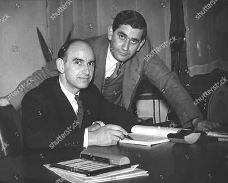 Philip Phillips And Roy Phillips Brothers Who Work In A City Office And Wrote An Opera Entitled 'trevallion' Which Is Being Shown At The Palace Theatre. Box 0591 22062015 00147a.jpg.