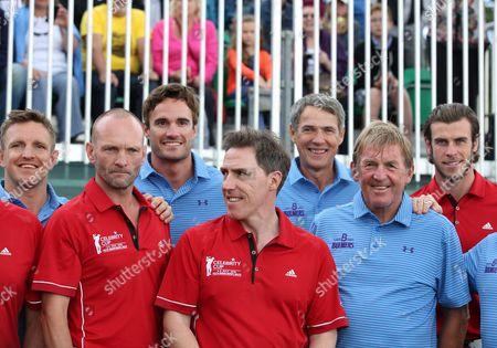 Rory Lawson, Andrew Howard, Thom Evans, Rob Brydon, Kenny Dalglish, Gareth Bale