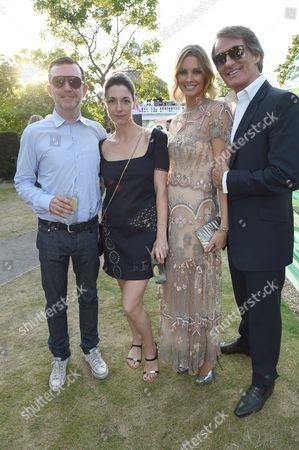 Simon Aboud, Mary McCartney, Malin Johansson and Tim Jefferies