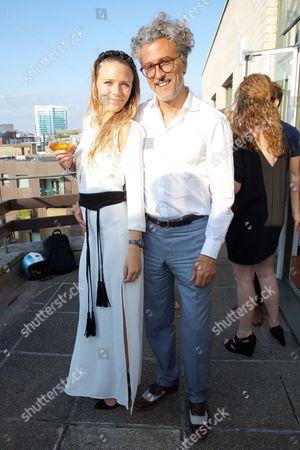 Sophie Moss and Fabrizio Zappaterra