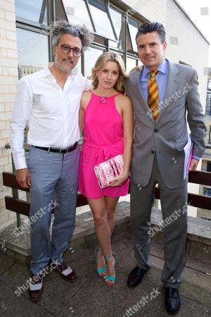 Fabrizio Zappaterra, Caggie Dunlop and Ed Taylor