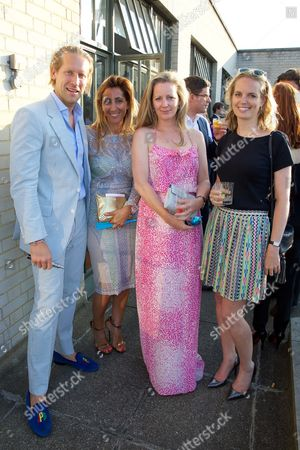 Jake Parkinson-Smith, Samira Parkinson-Smith, Annabel Kilner and Guest