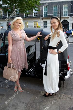 Natalie Coyle and Sophie Moss