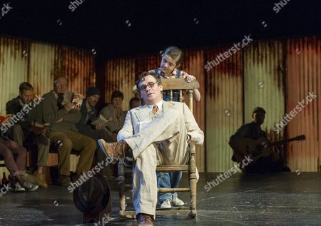 Stock Image of Ava Potter as Scout, Robert Sean Leonard as Atticus