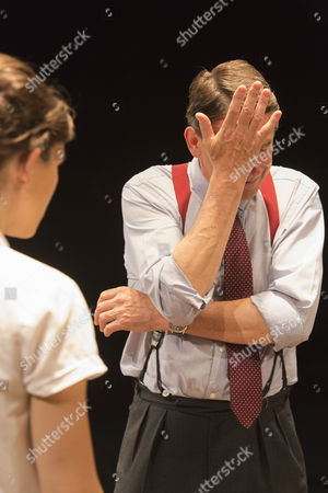Editorial picture of Orson's Shadow, Southwark Playhouse, London, Britain - 01 Jul 2015