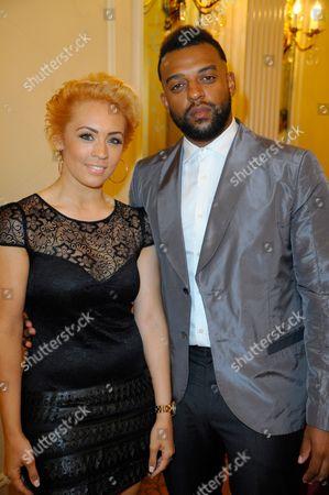 Oritse Williams with AJ Azari