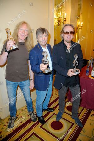 Iron Maiden, Janick Gers, Bruce Dickinson and Adrian Smith