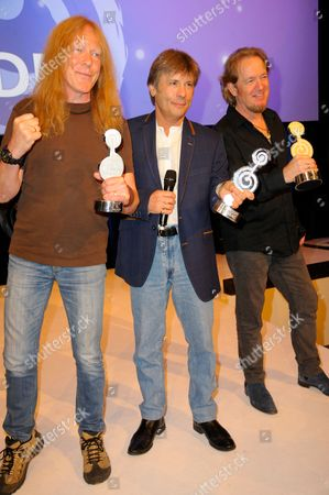 Iron Maiden - Janick Gers, Bruce Dickinson and Adrian Smith