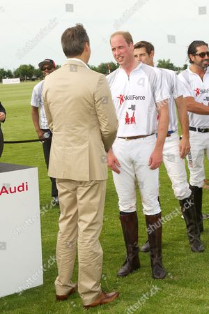 Andre Konsbruck and Prince William