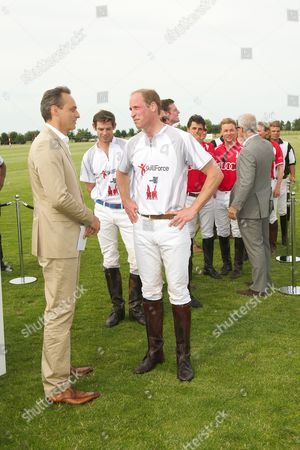 Stock Image of Andre Konsbruck and Prince William