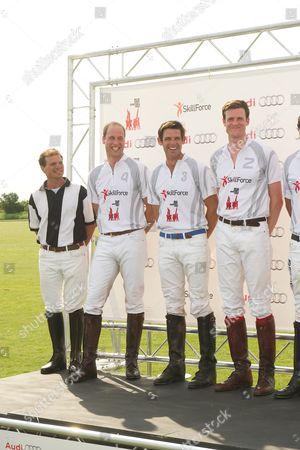 Prince William, Malcolm Borwick and Ben Vestey