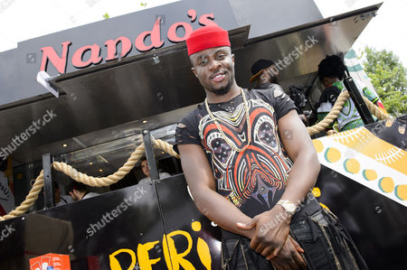 Fuse ODG stopped by the Cock o' Van for a Nando's fix after an energetic performance at New Look Wireless Festival in Finsbury Park London.