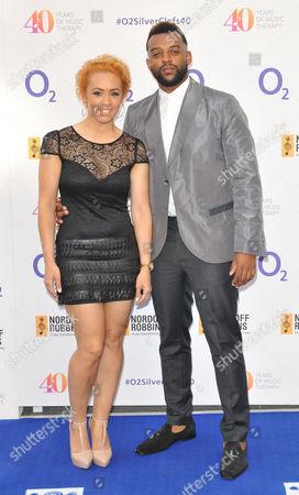 Stock Image of AJ Azari and Oritse Williams