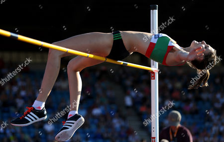 Great Britain Isobel Pooley during the Women's High Jump