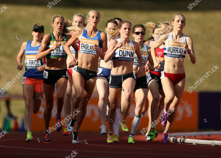 Stock Image of Great Britain Hannah England during the Women's 1500m heats