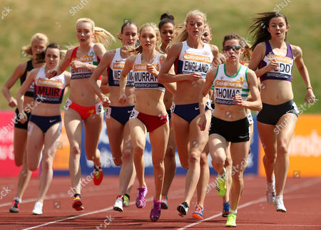 Great Britain Hannah England during the Women's 1500m Final