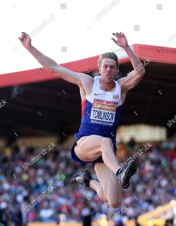 Great Britain Christopher Tomlinson during the Men's Long Jump