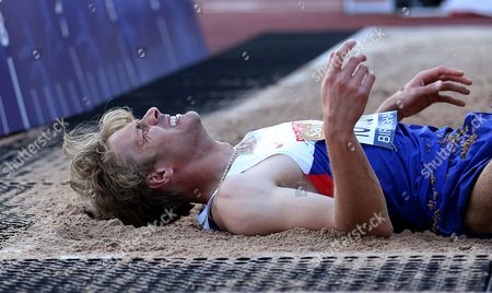 Stock Image of Great Britain Christopher Tomlinson during the Men's Long Jump