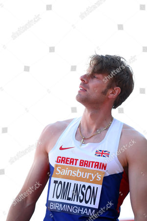Great Britain Christopher Tomlinson during the Men's Javelin