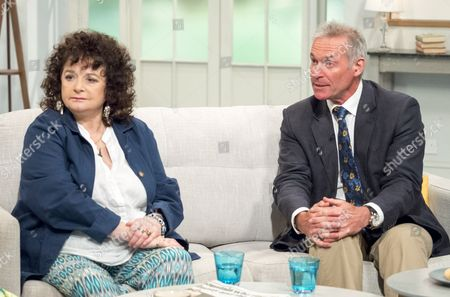 Tricia Ford and Dr Hilary Jones
