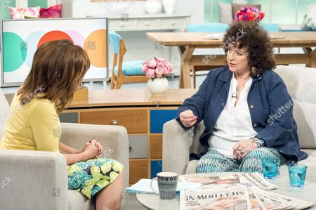 Lorraine Kelly and Tricia Ford