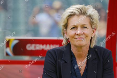 Silvia Neid (GER) - Football / Soccer : FIFA Women's World Cup Canada 2015 third place match between  Germany 0-1 England at Commonwealth Stadium in Edmonton, Canada.