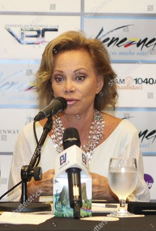 Editorial image of Paloma San Basilio press conference, Maimi, Florida, America - 03 Jul 2015