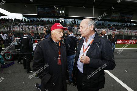 Niki Lauda, Ron Dennis