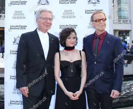 John Mauceri, Sandy Cameron, Danny Elfman