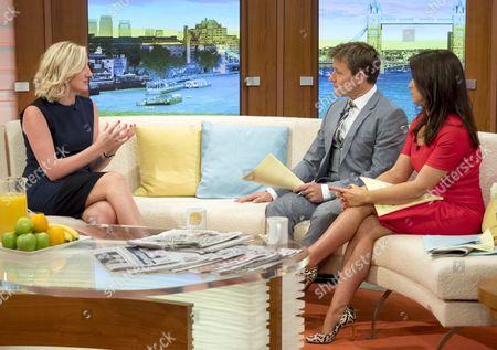 Jill Wood with Ben Shephard and Susanna Reid